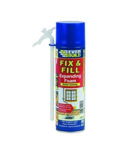 Everbuild Expanding Fix & Filler Foam 500ml