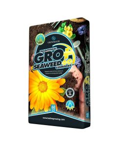 Growmoor Traditional GroPlus Seaweed Compost 60L