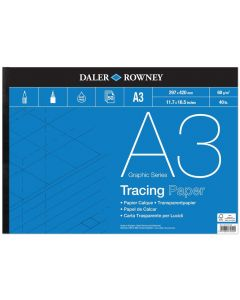 Daler Rowney Graphic Series Tracing Pad A3 60gsm