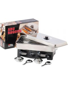 Abu Garcia Stainless Steel Smoker With 2 Burners