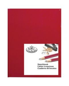 Royal & Langnickel Hardback Sketchbook A4 Red