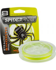 Spiderwire Stealth Smooth 8 Carrier Braid Yellow