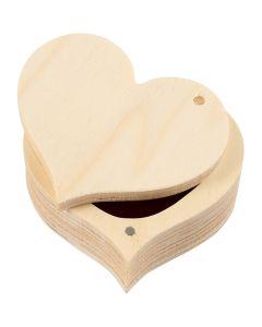 Creative Company Plywood Box Heart