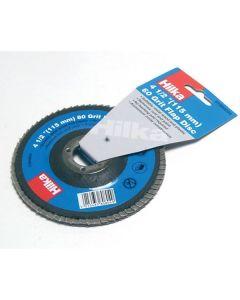 "Hilka Flap Disc 4½"" 60 Grit"