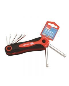Hilka Metric Ball Point Hex Key Set 7 Piece