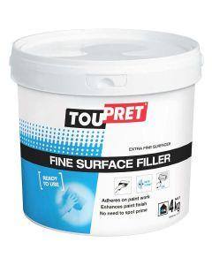 Toupret Fine Surface Filler 1.5kg
