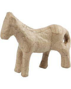 Creative Company Paper Mache Small Animals Horse