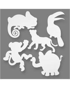 Creative Company Jungle Animals Cut-Outs