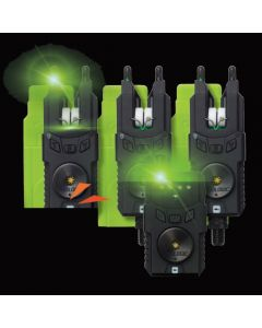Prologic Custom SMX MKII 3+1 Alarm Set Green