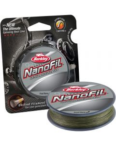 Berkley Nanofil Uni-Filament Spinning Line Low Vis Green