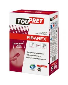 Toupret Fibarex Multipurpose Exterior Filler 2kg