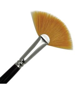 Royal & Langnickel Combo Fan Artist Brush Short Handle