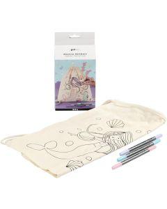 Creative Company Magical Mermaid Textile Decoration