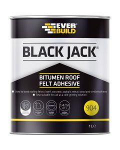 Everbuild 904 Bitumen Roof Felt Adhesive 1L