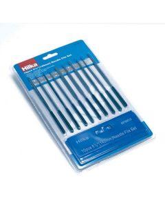 Hilka Soft Grip Needle File Set 10 Piece