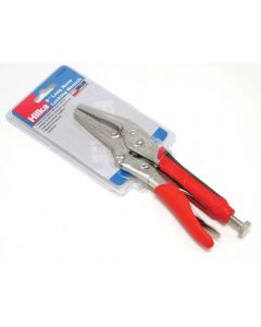 Hilka Soft Grip Long Nose Locking Pliers 6.5""