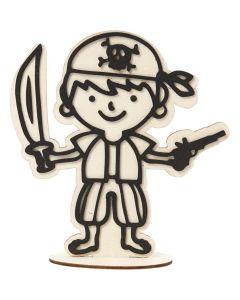 Creative Company Decoration Figure Bandanna Pirate