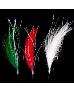 Ron Thompson Sea Rigs Mackerel Feathers Mixed Colour