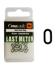 Prologic Last Meter Accessories Oval Steel Ring Assorted Sizes 20pcs