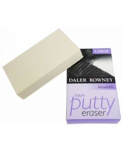 Daler Rowney Kneadable Putty Rubber Large Firm