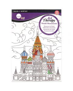 Daler Rowney Simply Art Therapy Book A5 World Monuments