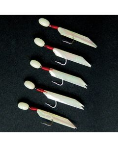 Shakespeare Salt Sea Rigs Luminous Hawk Lures