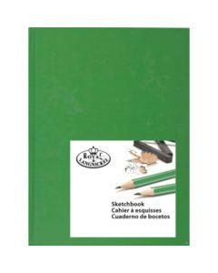 Royal & Langnickel Hardback Sketchbook A4 Green