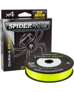 Spiderwire Dura 4 Carrier Braid Yellow