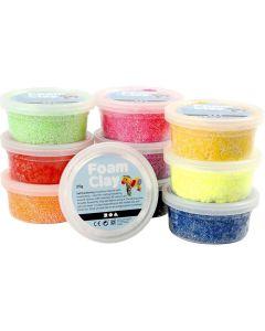 Creative Company Foam Clay 10pk 35g Basic