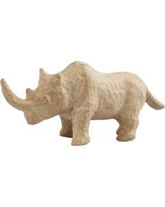 Creative Company Paper Mache Wild Life Animals Rhino