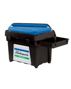 Shakespeare Fully Loaded Seat Box Black