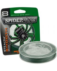 Spiderwire Stealth Smooth 8 Carrier Braid Moss Green